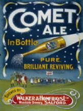 Comet Ale Metal Wall Sign (2 sizes)